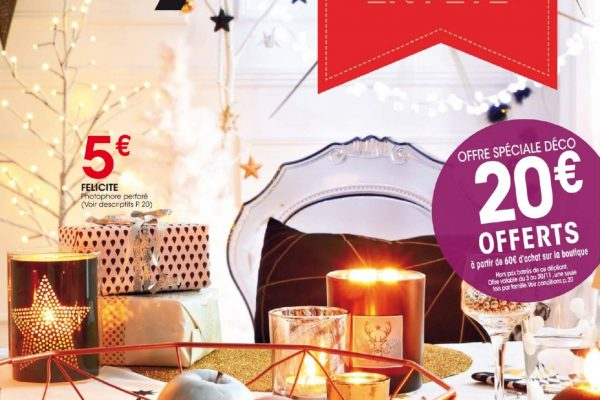 Offre exclusive Déco «15 euros offerts à partir de 30€ d'achats sur la boutique Fly.fr